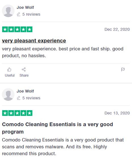 Comodo review