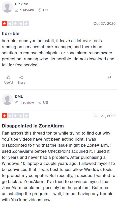Zonealarm Review